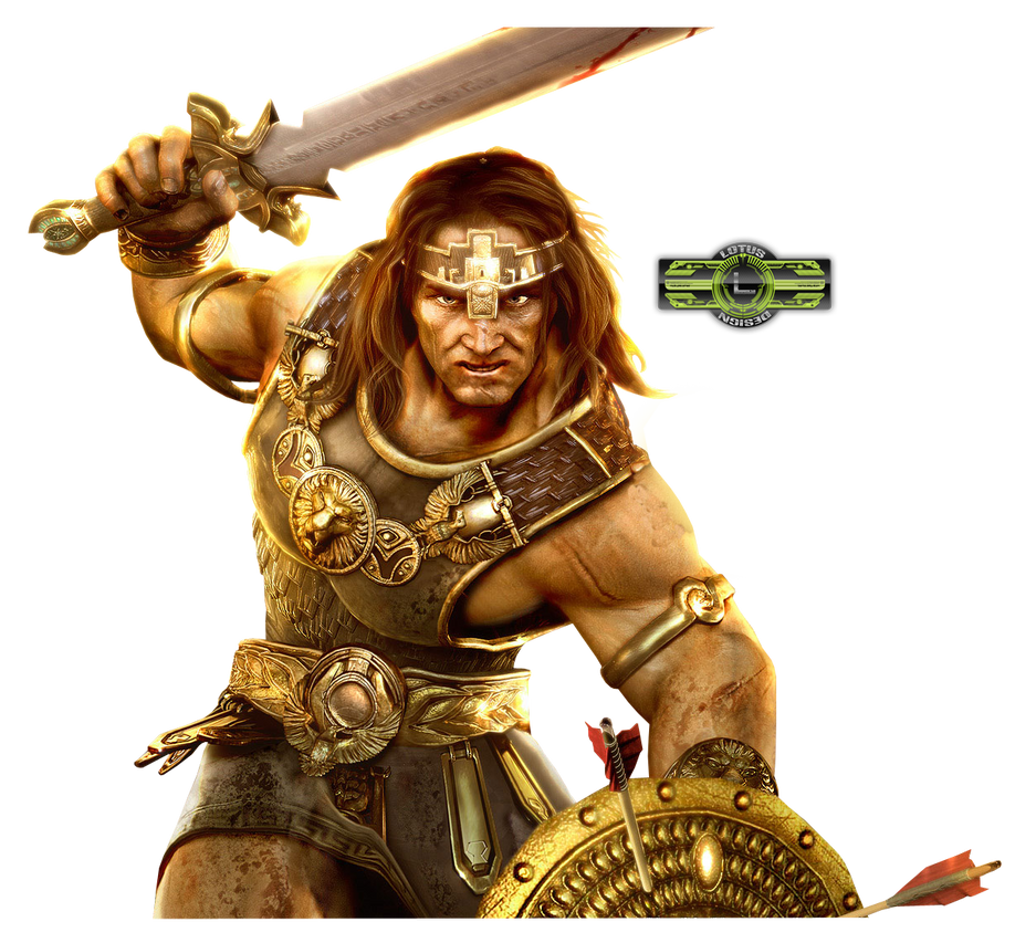 Barbarian Render by LotusVEater