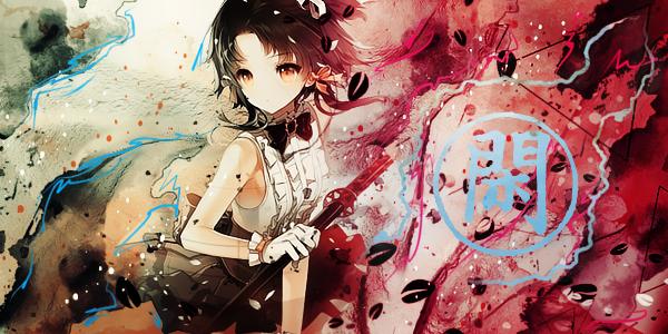 Samurai Girl by LotusVEater