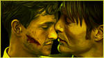 Hannibal and Will by OnurahArt