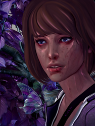 Max Caulfield by OnurahArt