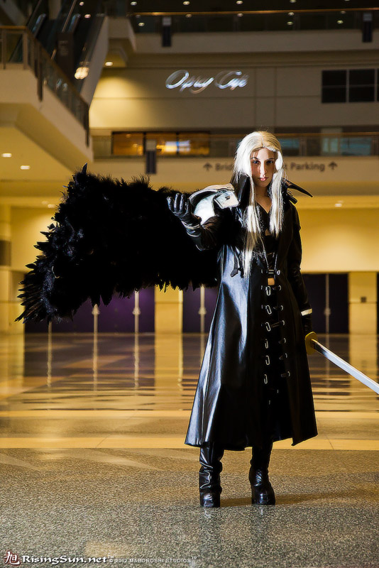 One Winged Angel by BrokenNeedles