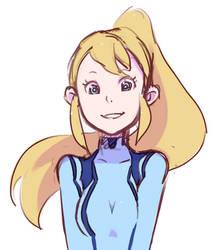 Happy Samus is Allowed Right? by pxyI