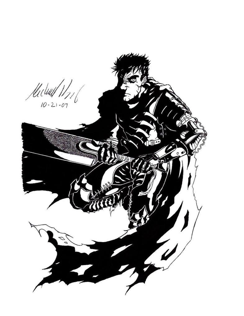 Gatts Black Version by gaetano125
