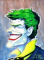 Joker Watercolor by BodyTriangle