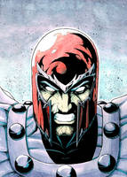 Magneto Ink and Watercolor by BodyTriangle