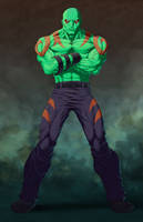 Drax The Destroyer by BodyTriangle