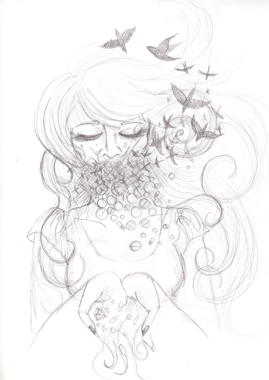 Invisible Monsters by Ravens-for-Vincent on DeviantArt