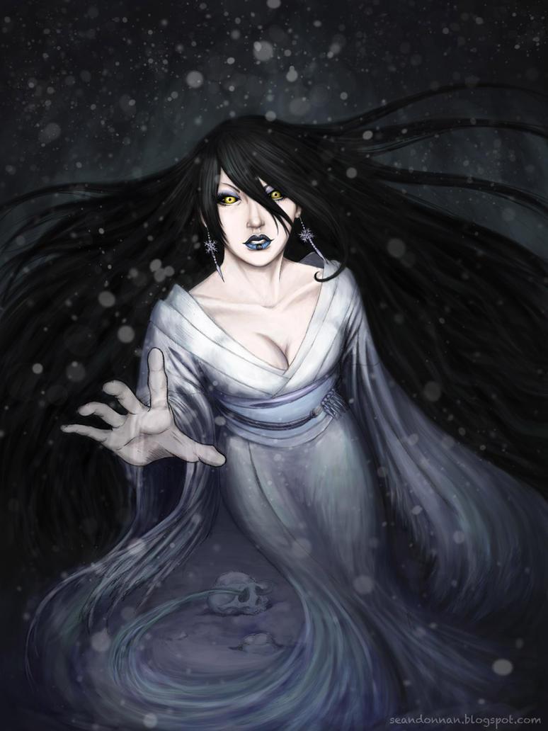 Yuki-onna by SeanDonnanArt