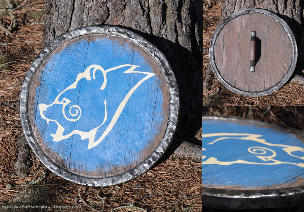 Windhelm Shield by SeanDonnanArt