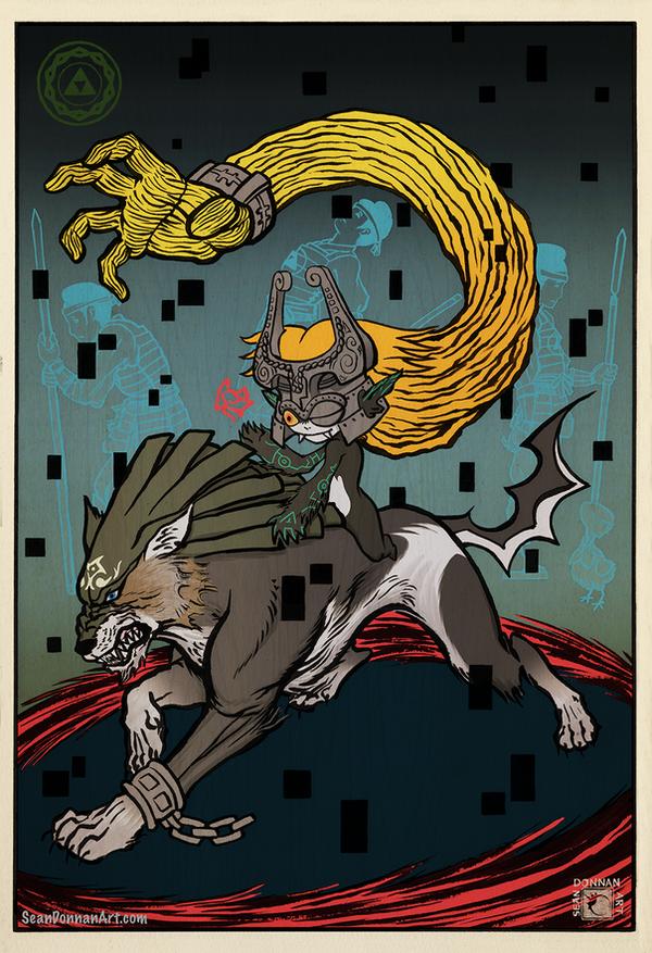 Tale of Zelda - Twilight by SeanDonnanArt