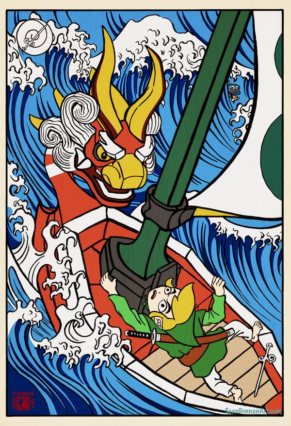 Tale of Zelda - Wind Waker by SeanDonnanArt