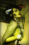 Bride of Frankenstein Pin Up