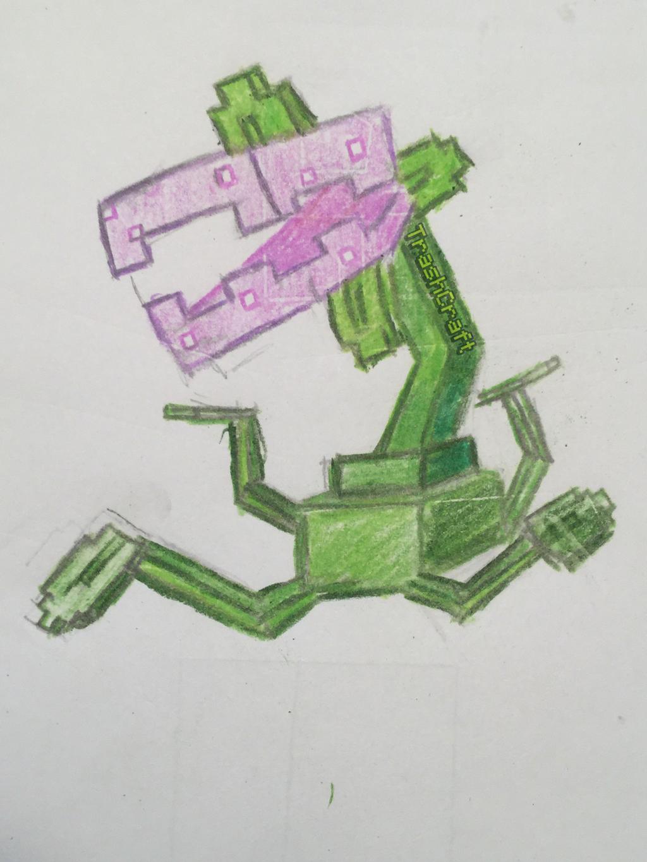Pixel Gun 3D-PeaShooter by TrashCraftpayer