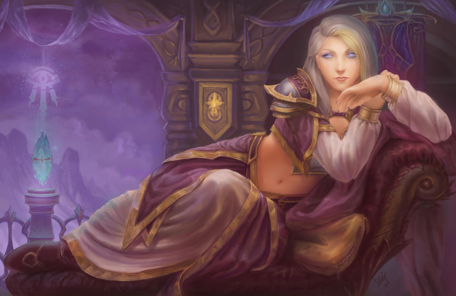 Lady Jaina Proudmoore by Elizanel on DeviantArt