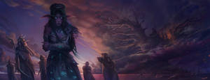 The tragedy of Teldrassil by Elizanel