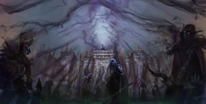 Siege of Lordaeron by Elizanel