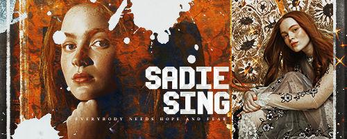 Signature +Sadie Sing