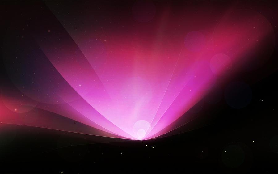 Pink Snow Leopard Aurora HD by MikeyG8