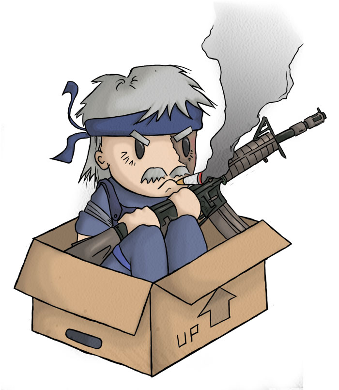 old snake in a box by teuf el on deviantart