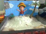- Luffy On The Beach -