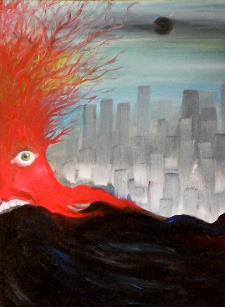 Vomiting Tree by tegenaria
