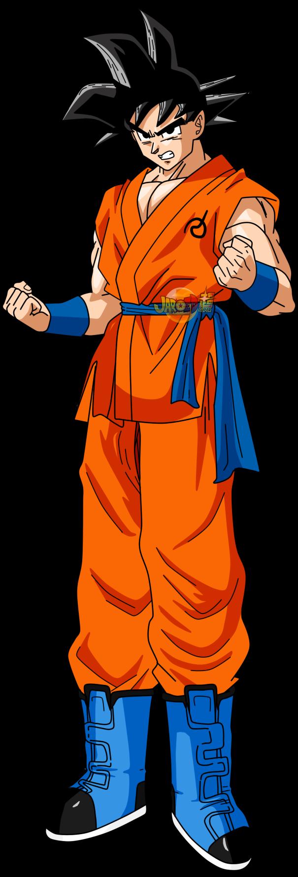 Goku Normal v4 by jaredsongohan on DeviantArt