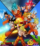 Poster Son Goku 27 Aniversario DBZ