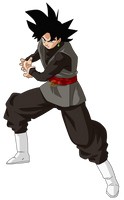 Black Goku Power by jaredsongohan
