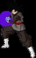 Black Goku Powe kii by jaredsongohan