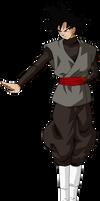 Goku black ataque L by jaredsongohan
