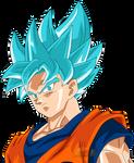 Goku ssGss Face dbs