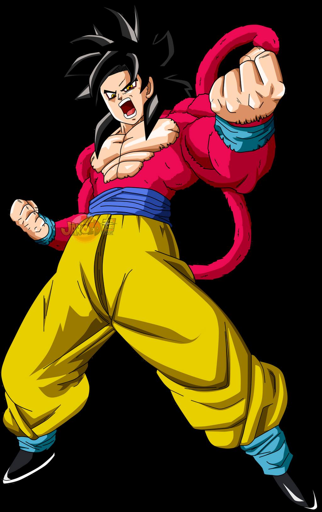 Ssj4 Goku And Vegeta Fusion | www.imgkid.com - The Image