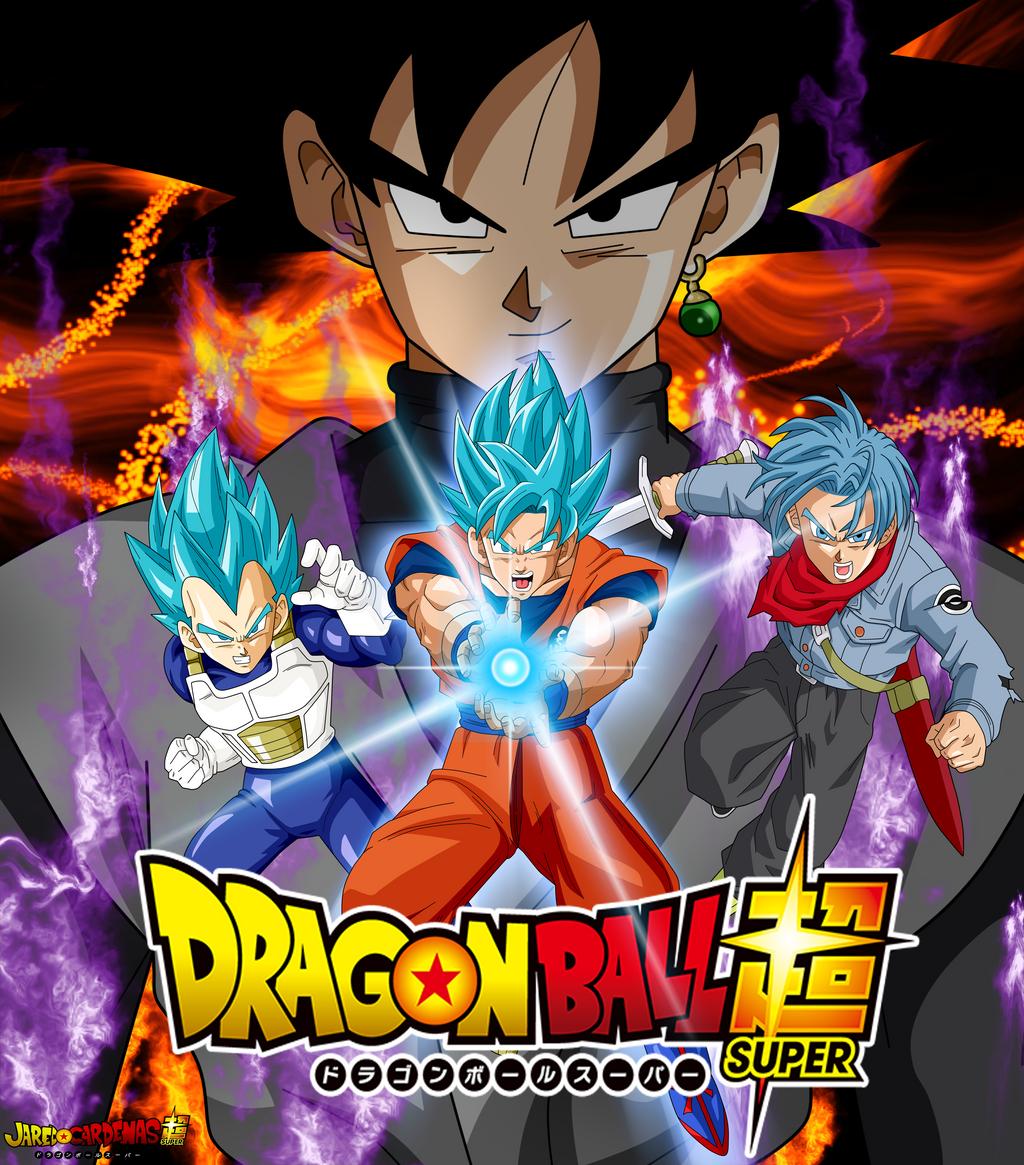 Poster Goku Black Saga Mirai Trunks By Jaredsongohan On