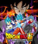 Poster Goku Black Saga Mirai Trunks