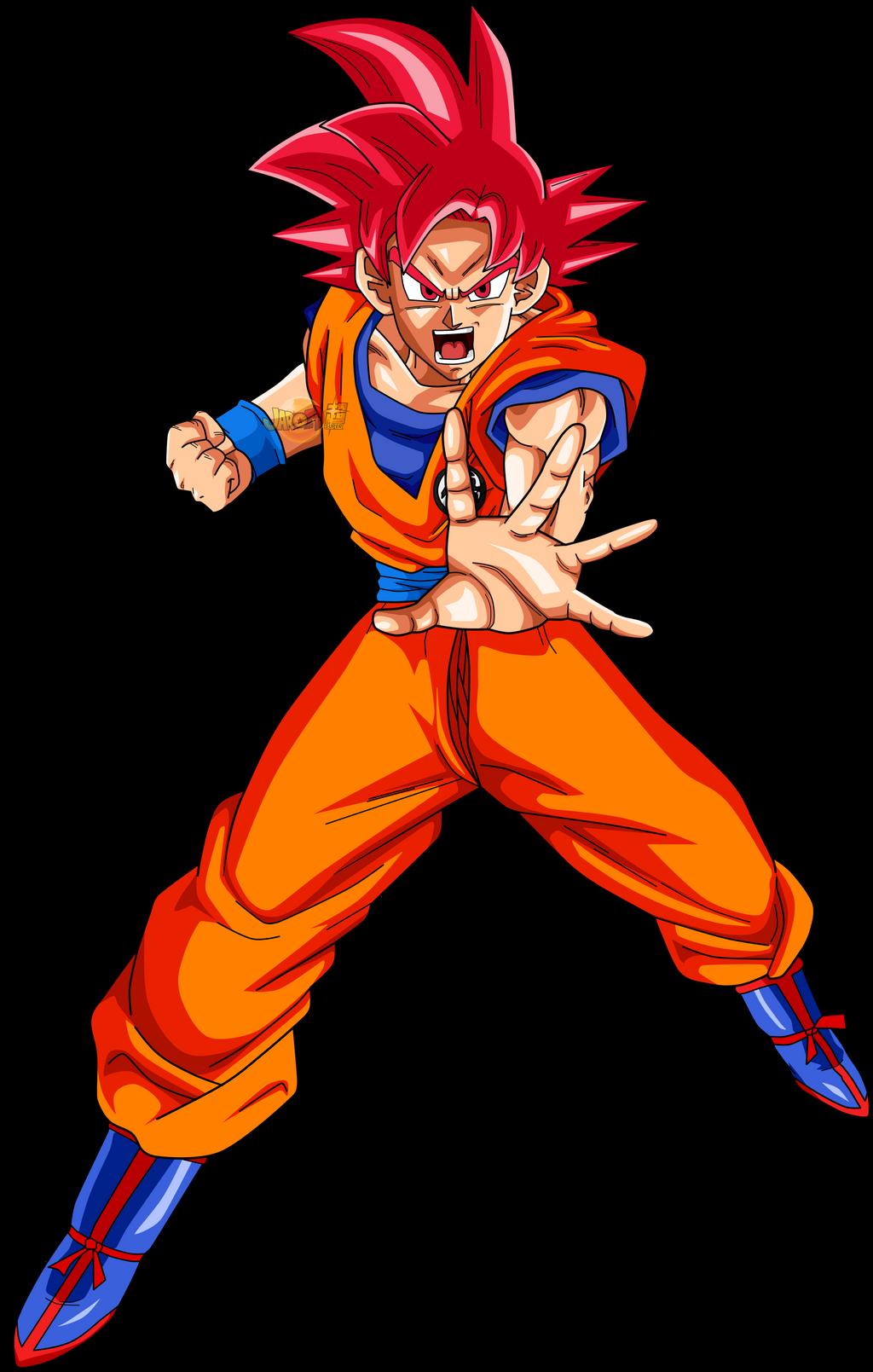 Goku ssj god v2 by jaredsongohan on deviantart - Sangoku super saiyan god ...