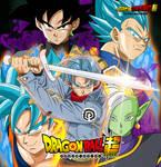 Poster Saga Mirai Trunks - Goku Black
