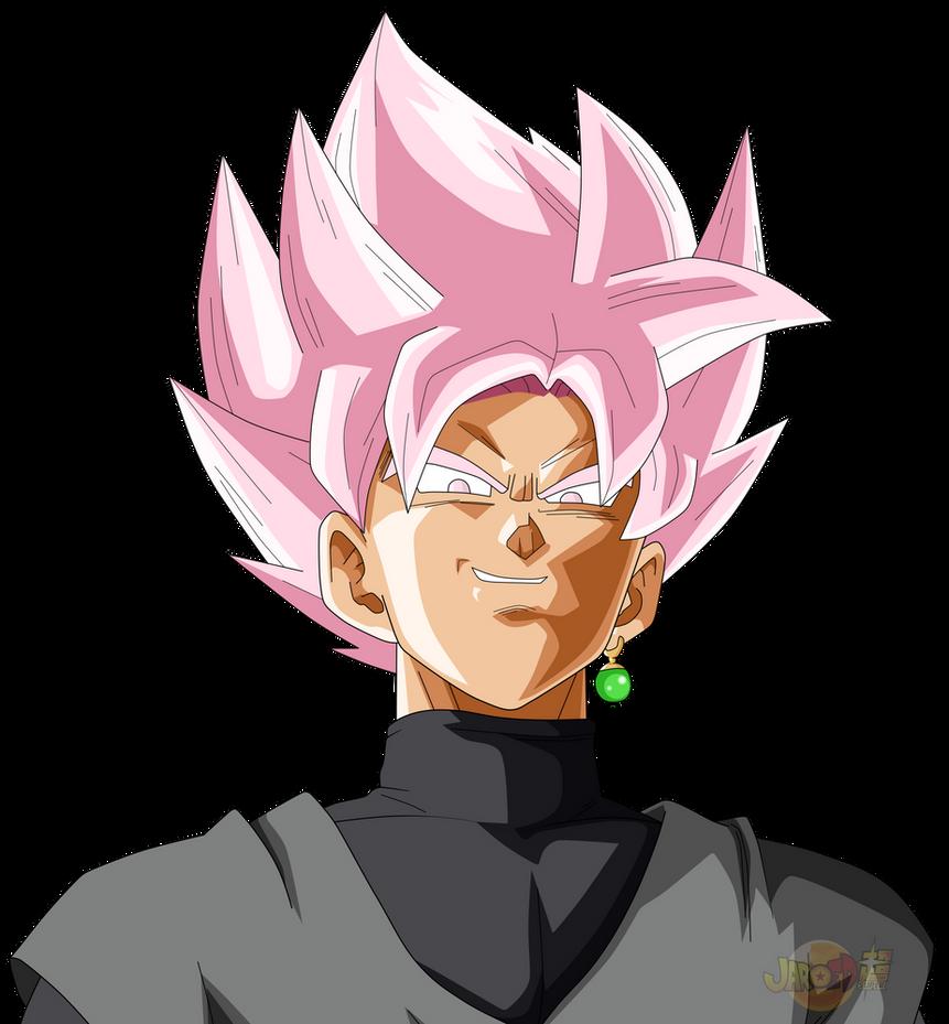 Goku Black ssJ Rose Face by jaredsongohan on DeviantArt