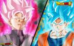 Goku Black ssJ Rose vs Goku ssGss