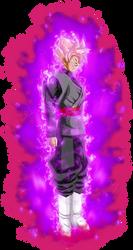 Goku black ssj Rose v4 power by jaredsongohan