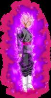 Goku black ssj Rose v4 power