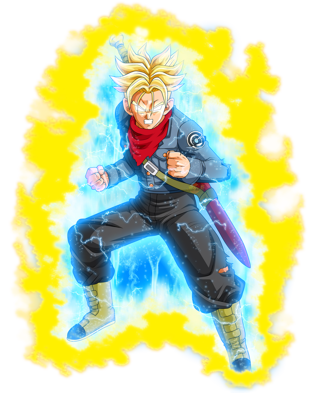 Future Trunks New Form v2 by rmehedi on DeviantArt