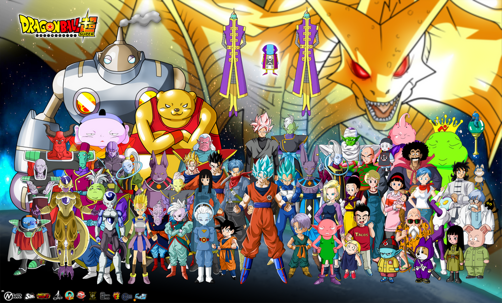 Posters  Personajes 2016 Dragon Ball Super by jaredsongohan on