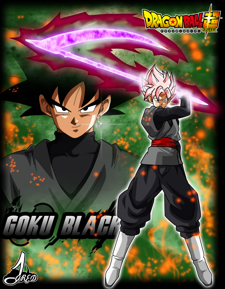 poster black goku dragon ball super by jaredsongohan on deviantart. Black Bedroom Furniture Sets. Home Design Ideas
