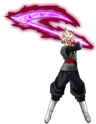 Goku Black ssj Rose Ataque Oz by jaredsongohan