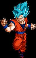 Goku ssj blue dbs by jaredsongohan
