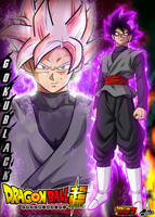 Poster Goku Black by jaredsongohan