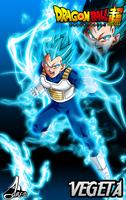 Poster Vegeta ssj blue by jaredsongohan