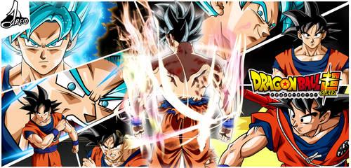 Son Goku Dragon Ball Super by jaredsongohan