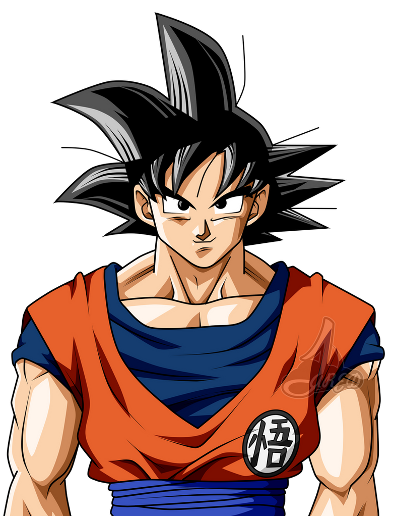 son goku base l by jaredsongohan on deviantart