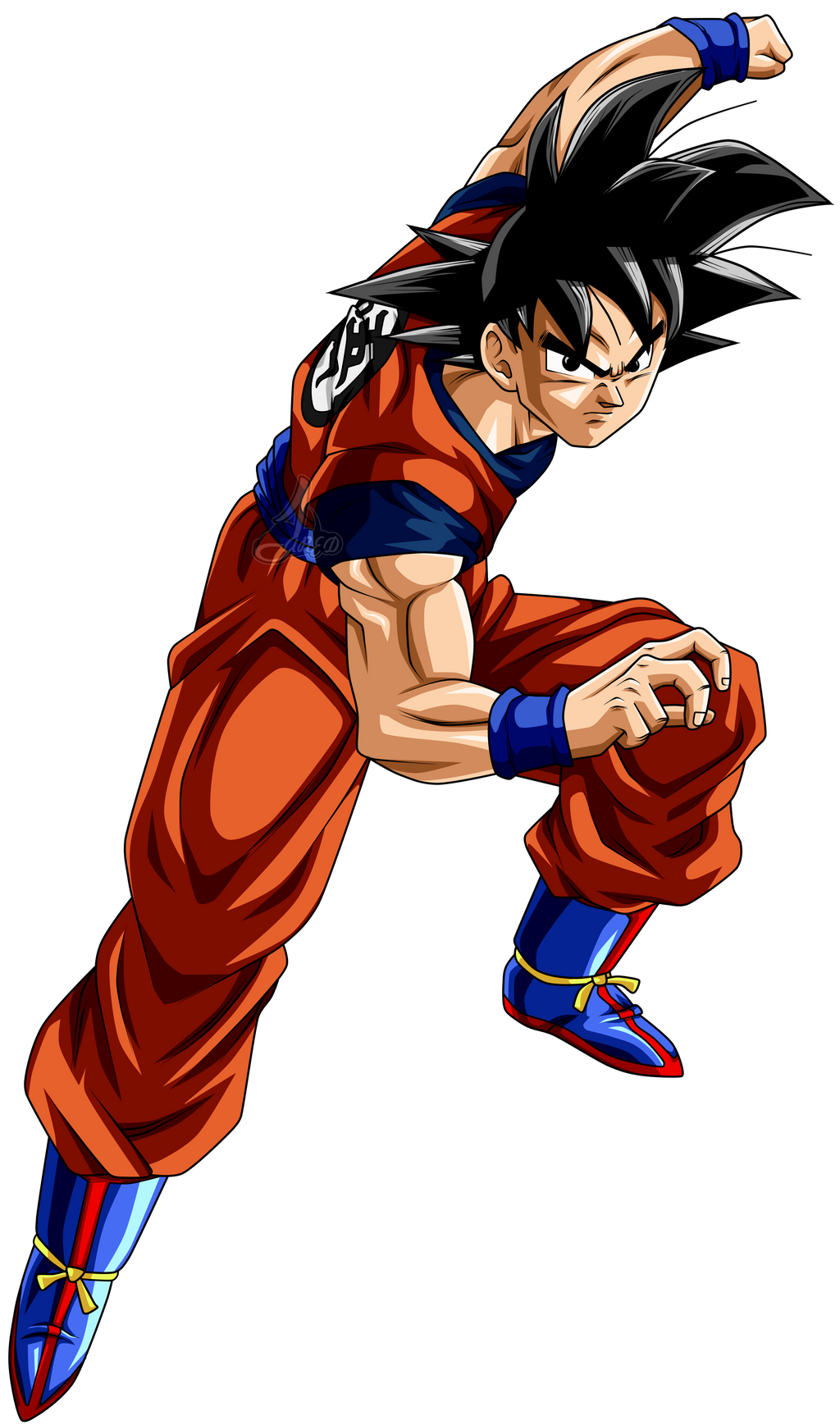 Son Goku DBS v2 L by jaredsongohan on DeviantArt